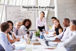 Ingenium Talent - Team Collaborating - People Are Everything - We'd like to get to know you...